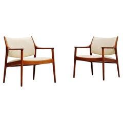 Torbjorn Afdal Elton Lounge Chairs Nejestranda, Norway, 1960