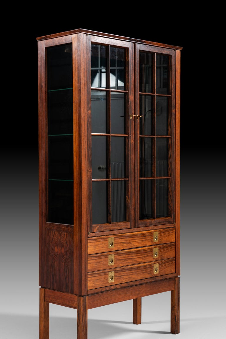 Torbjørn Afdal Attributed Cabinet Produced by Mellemstrand Møbelfabrik in Norway For Sale 1
