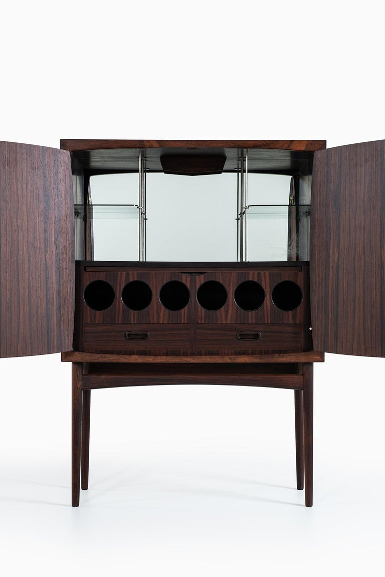 Norwegian Torbjørn Afdal Bar Cabinet Model Bacchus by Mellemstrands Møbelfabrik in Norway For Sale