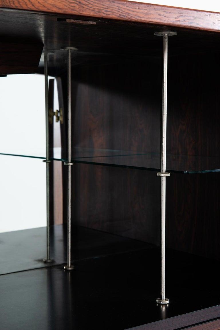 Torbjørn Afdal Bar Cabinet Model Bacchus by Mellemstrands Møbelfabrik in Norway In Good Condition For Sale In Malmo, SE
