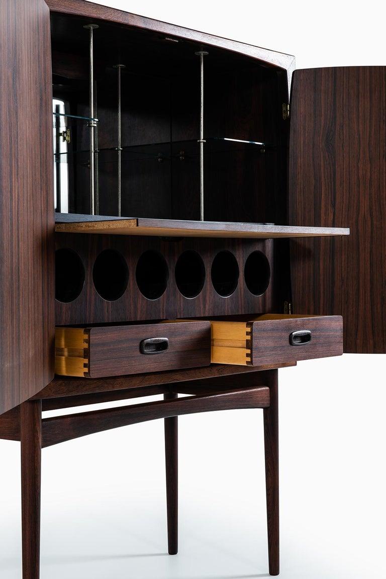 Mid-20th Century Torbjørn Afdal Bar Cabinet Model Bacchus by Mellemstrands Møbelfabrik in Norway For Sale