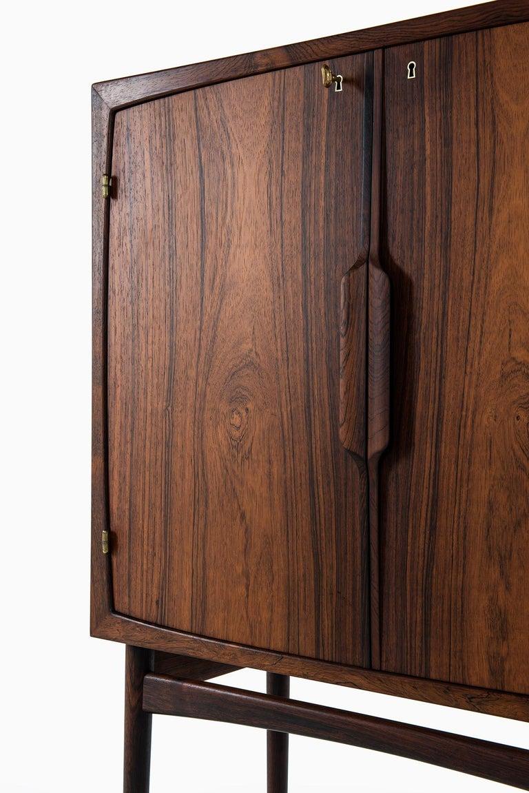 Torbjørn Afdal Bar Cabinet Model Bacchus by Mellemstrands Møbelfabrik in Norway For Sale 2