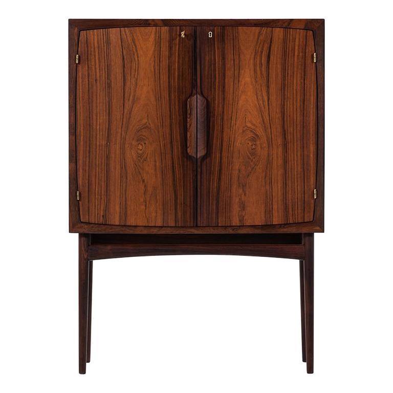 Torbjørn Afdal Bar Cabinet Model Bacchus by Mellemstrands Møbelfabrik in Norway For Sale