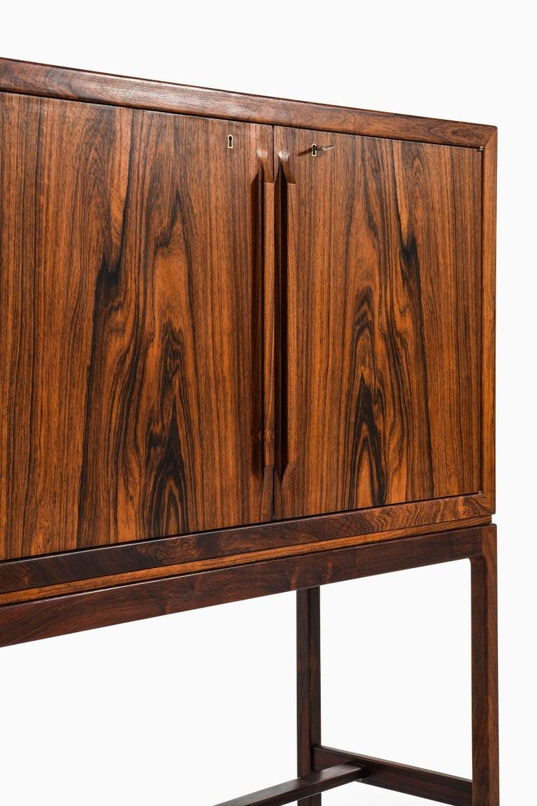 Torbjørn Afdal Bar Cabinet Produced by Mellemstrands Møbelfabrik in Norway For Sale 3