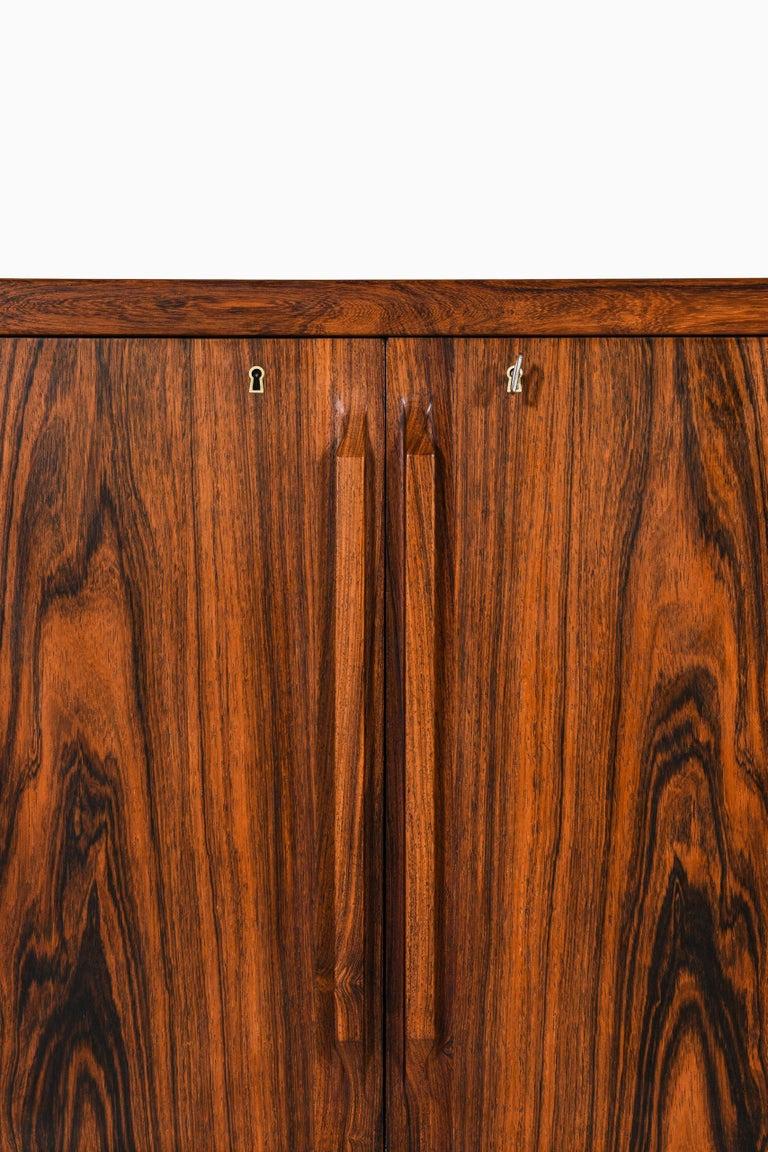 Scandinavian Modern Torbjørn Afdal Bar Cabinet Produced by Mellemstrands Møbelfabrik in Norway For Sale