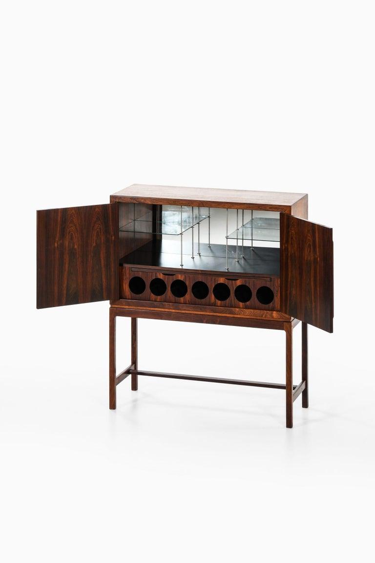 Torbjørn Afdal Bar Cabinet Produced by Mellemstrands Møbelfabrik in Norway In Good Condition For Sale In Malmo, SE