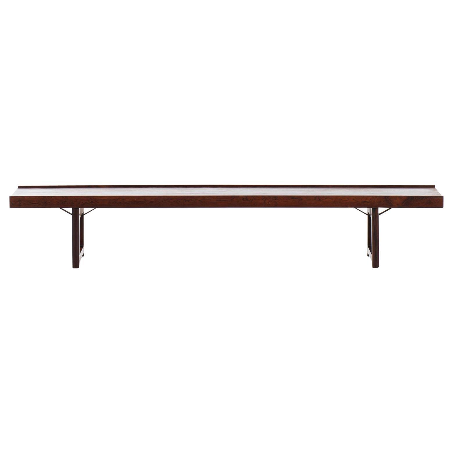 Torbjørn Afdal Bench / Side Table Model Krobo Produced in Norway