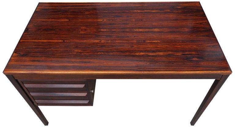 Mid-Century Modern Torbjørn Afdal Desk in Rosewood