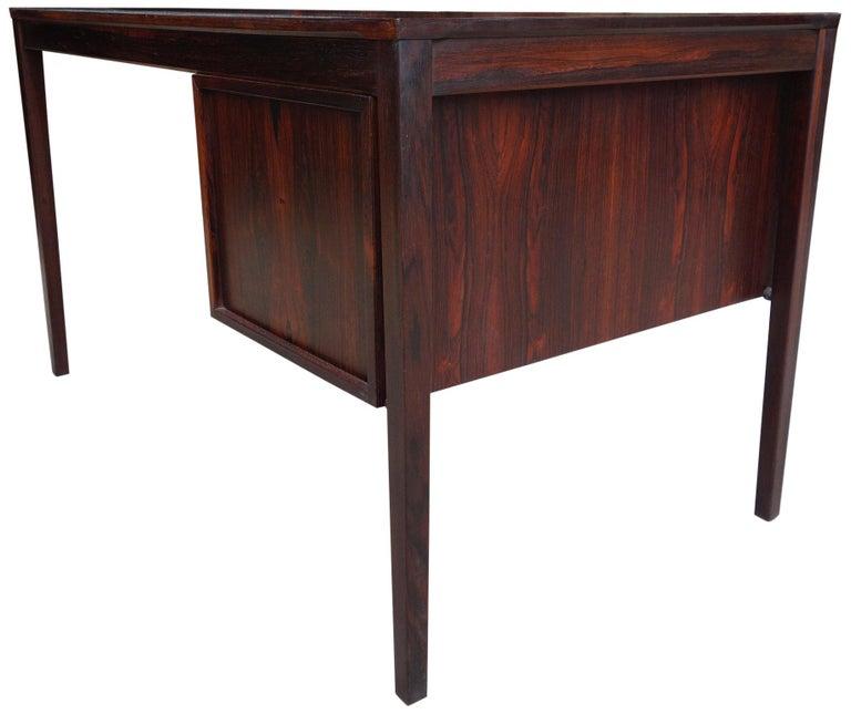 Torbjørn Afdal Desk in Rosewood In Good Condition In BROOKLYN, NY