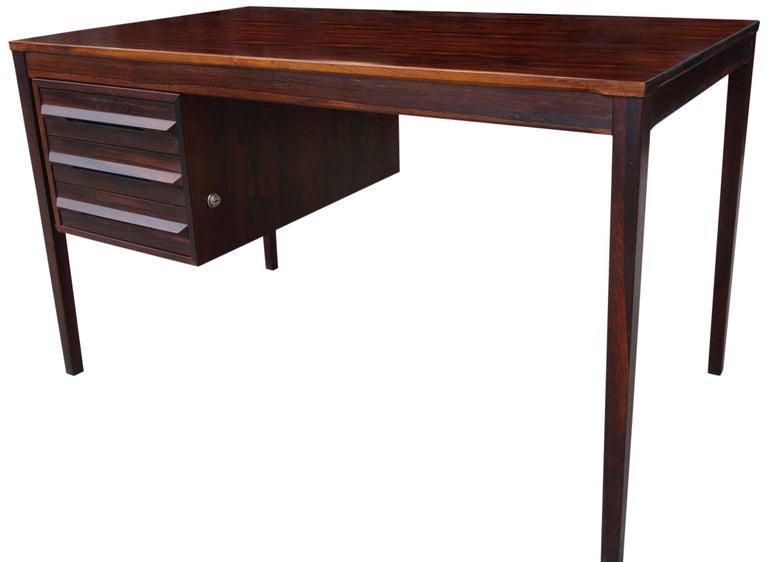 20th Century Torbjørn Afdal Desk in Rosewood