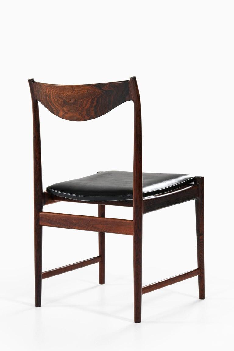 Torbjørn Afdal Dining Chairs Model Darby by Nesjestranda Møbelfabrik in Norway For Sale 5