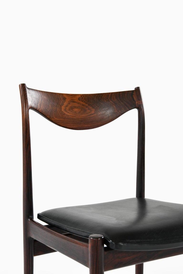 Scandinavian Modern Torbjørn Afdal Dining Chairs Model Darby by Nesjestranda Møbelfabrik in Norway For Sale