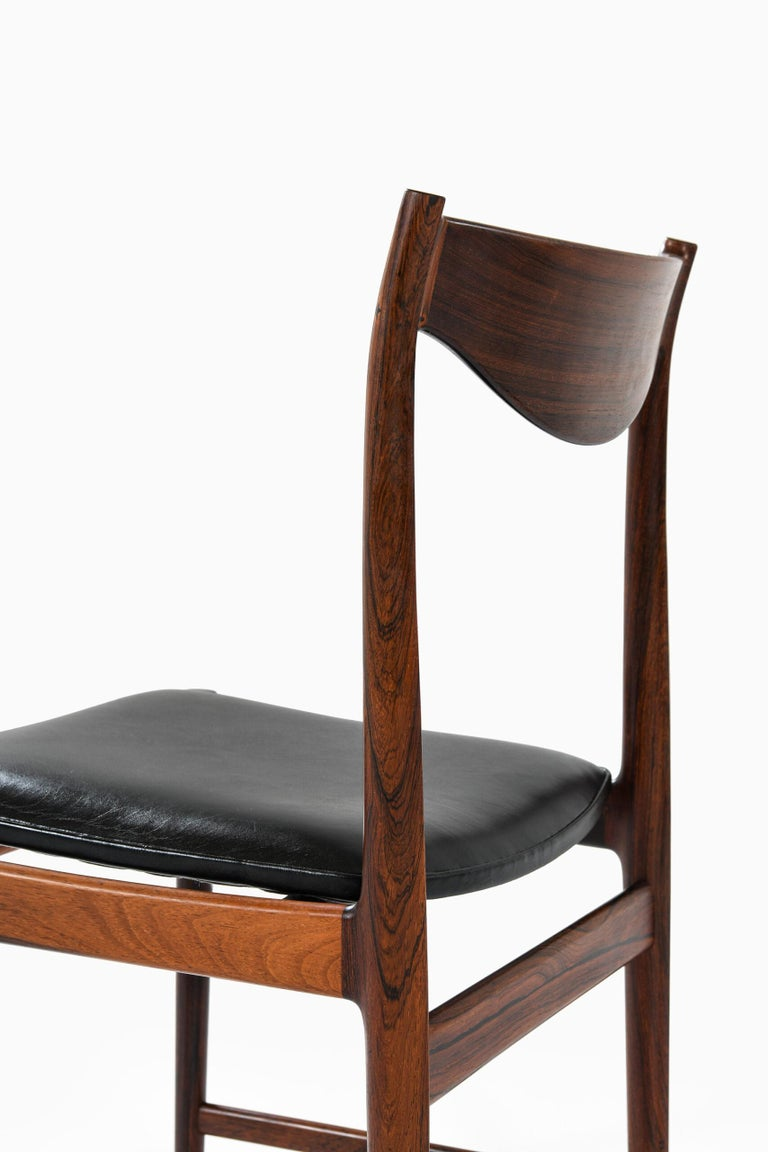 Mid-20th Century Torbjørn Afdal Dining Chairs Model Darby by Nesjestranda Møbelfabrik in Norway For Sale