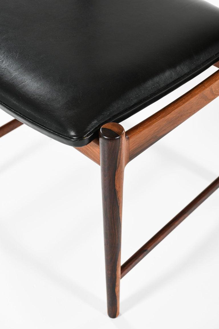 Leather Torbjørn Afdal Dining Chairs Model Darby by Nesjestranda Møbelfabrik in Norway For Sale