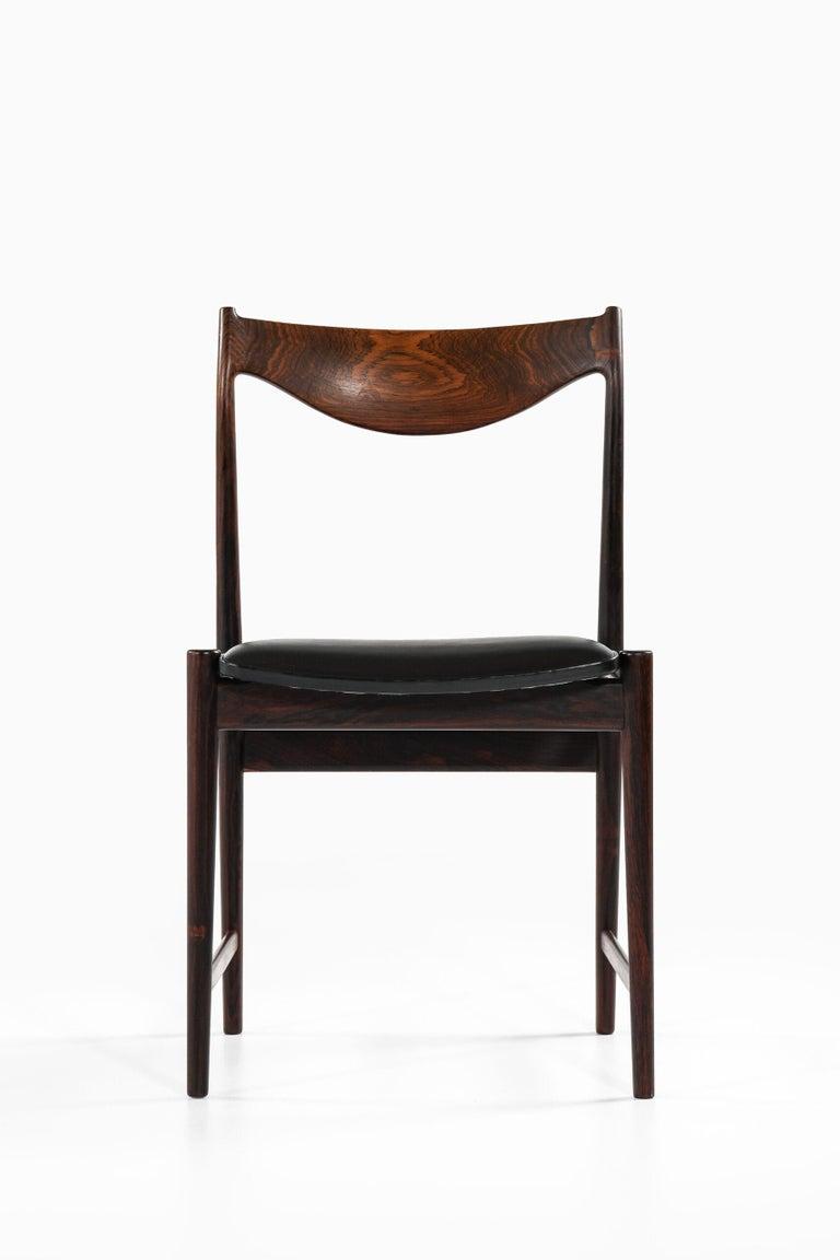 Torbjørn Afdal Dining Chairs Model Darby by Nesjestranda Møbelfabrik in Norway For Sale 1