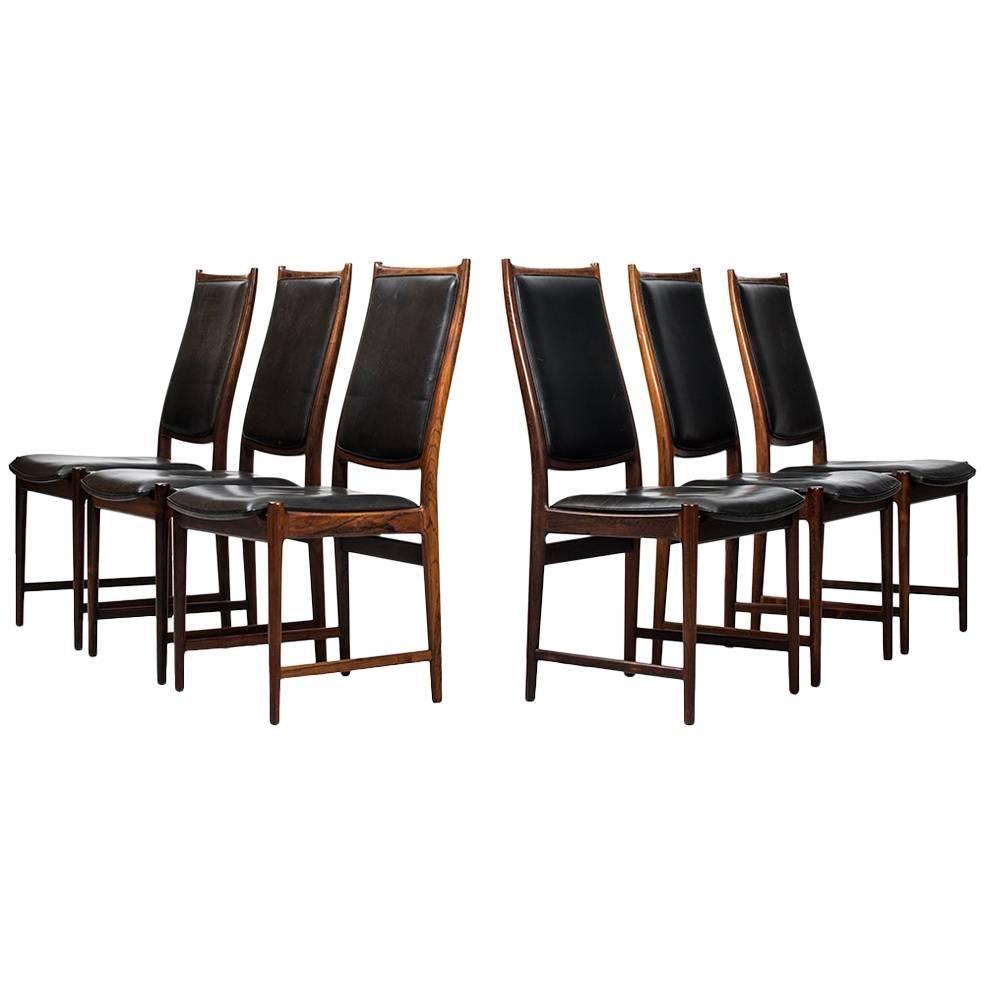 Torbjørn Afdal Dining Chairs Model Darby by Nesjestranda Møbelfabrik in Norway