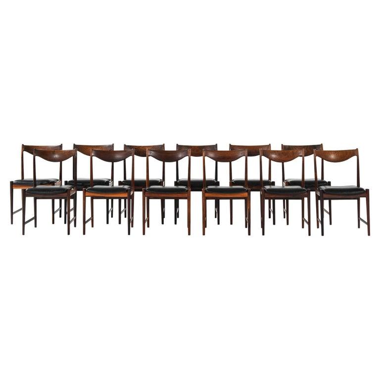 Torbjørn Afdal Dining Chairs Model Darby by Nesjestranda Møbelfabrik in Norway For Sale