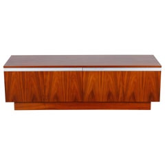 Torbjørn Afdal for Bruksbo Rosewood Low Sideboard, Norway, 1960s