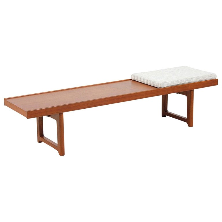 "Torbjørn Afdal ""Krobo"" Teak Bench or Coffee Table For Sale"