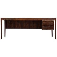 Großer Schreibtisch von Torbjørn Afdal, hergestellt von Haug Snekkeri in Norwegen