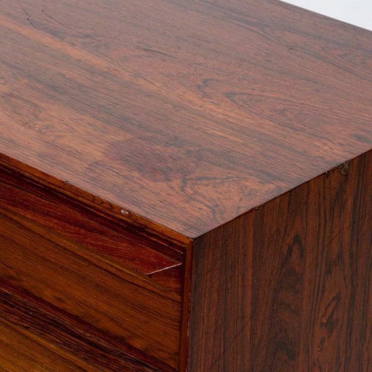Norwegian Torbjørn Afdal Scandinavian Rosewood Dresser by Bruskbo Modell, Norway For Sale