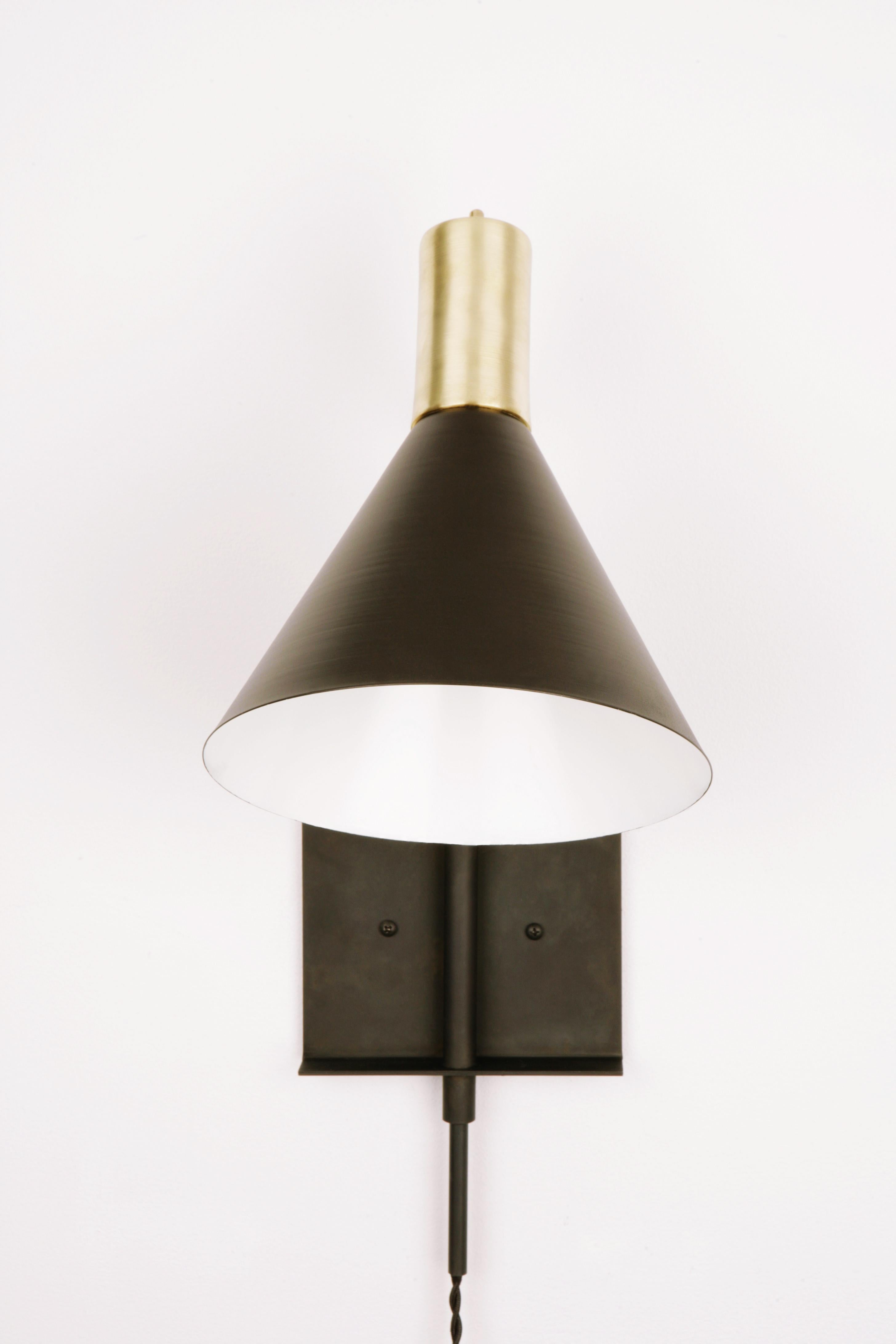 Torche Sconce In Brass And Steel Tilt Swivel Soft Wire Plug Wiring A To Light Fixture Switch Lamp For Sale At 1stdibs