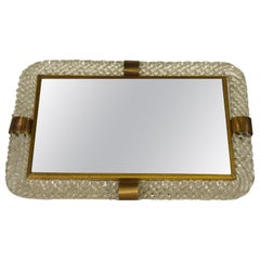 Torciglioni Glass Vanity Tray by Venini