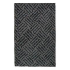 Torekov Clay, Modern Dhurrie or Kilim Rug in Scandinavian Design