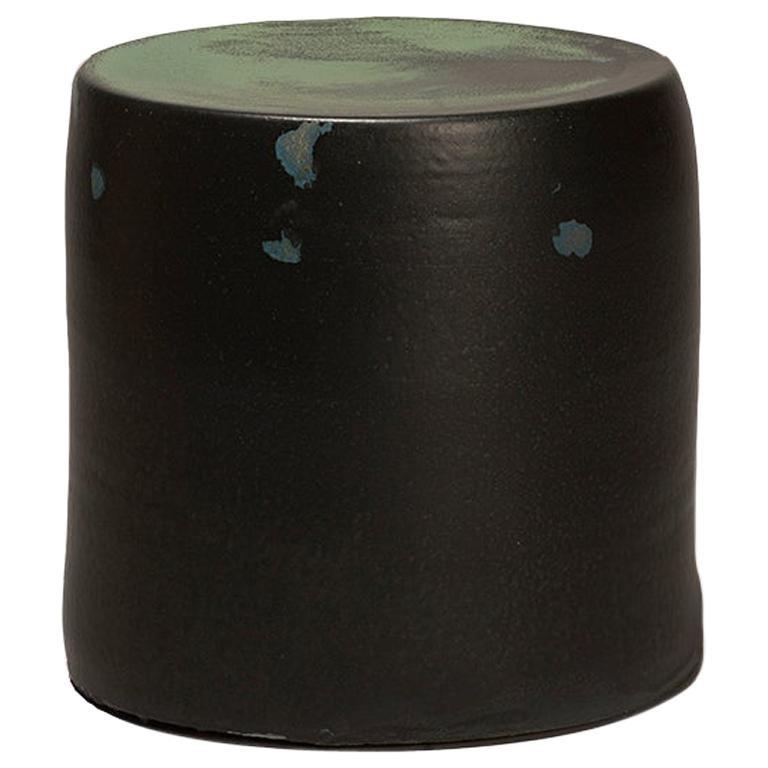 Torn Side Table LA Dark Green 639 For Sale