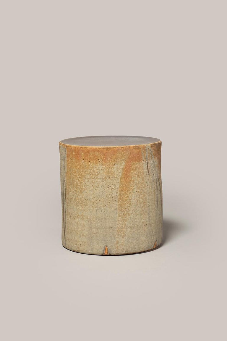 Contemporary Torn Side Table LA Desert 637 For Sale