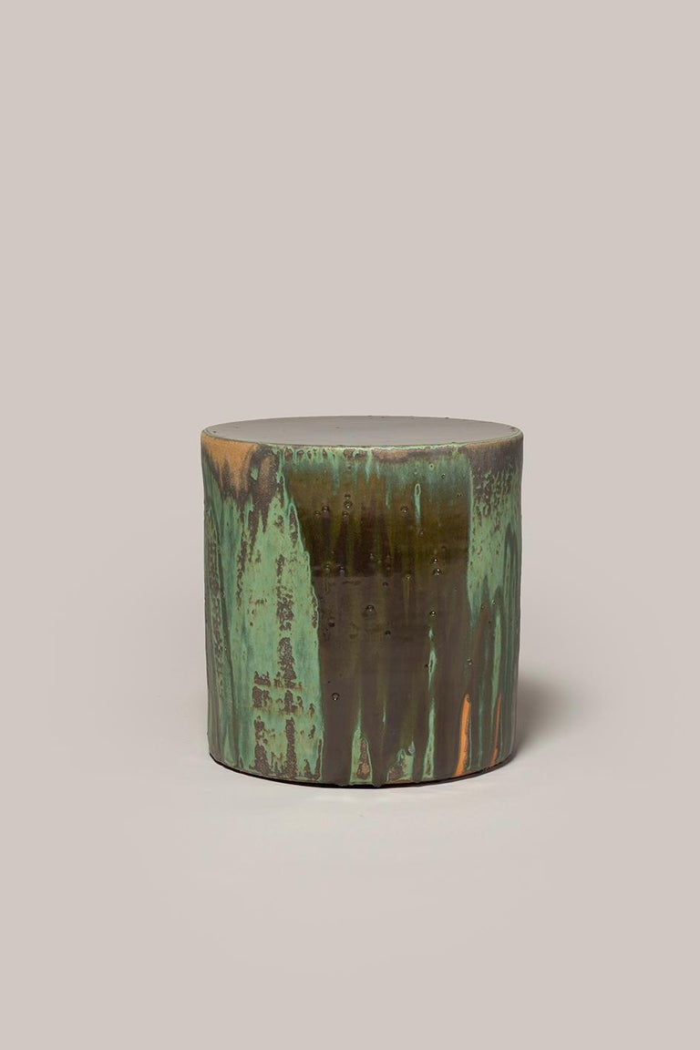 Torn Side Table LA Green Gray 640 In New Condition For Sale In Rubi, Catalunya