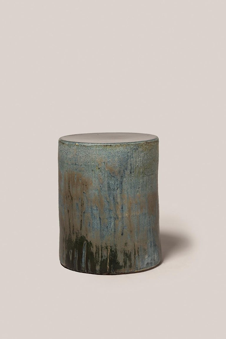 Torn Side Table LA Turquoise Gray 636 In New Condition For Sale In Rubi, Catalunya