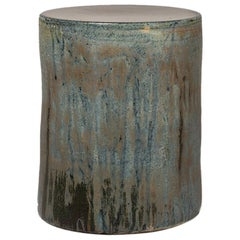Torn Side Table LA Turquoise Gray 636