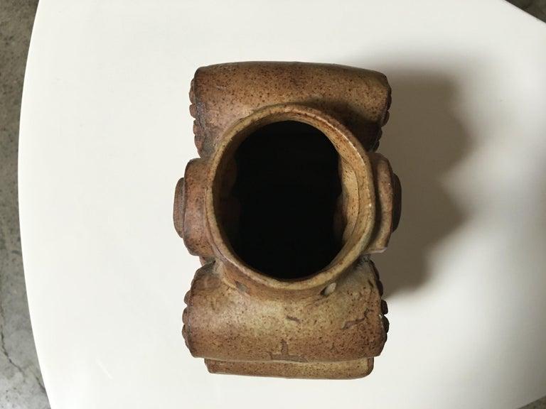 20th Century Toroidal Vase by Bernard Rooke For Sale