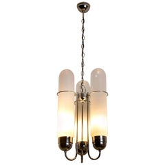 Torpedo Chandelier by Nason for AV Mazzega, Murano, Italy