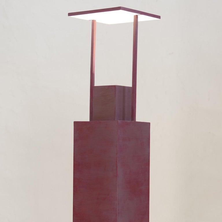 Italian Torre 2 Light-Sculpture by Giorgio Cubeddu For Sale