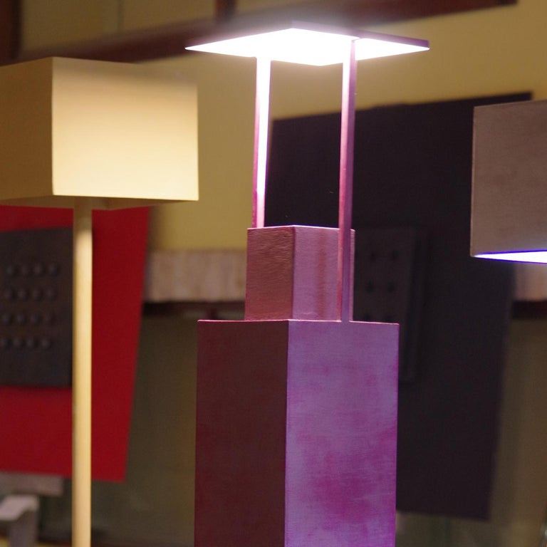 Torre 2 Light-Sculpture by Giorgio Cubeddu In New Condition For Sale In Milan, IT