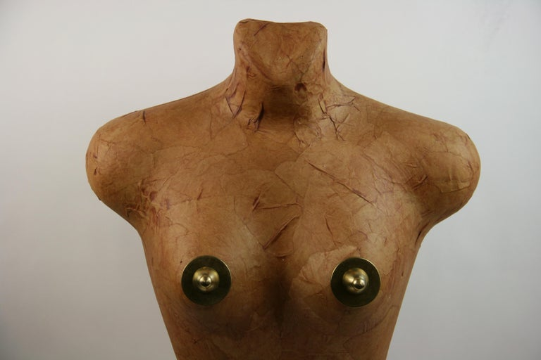 Late 20th Century Torso Sculpture by Brunelli For Sale