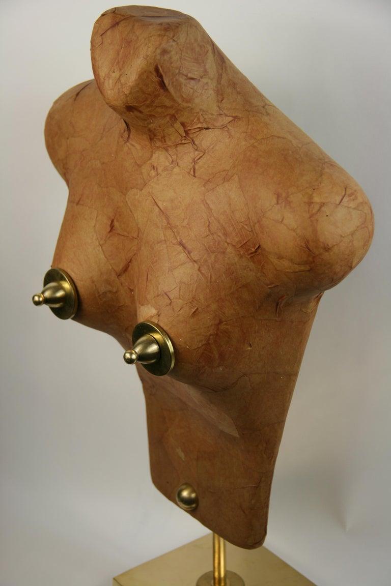 Torso Sculpture by Brunelli For Sale 2