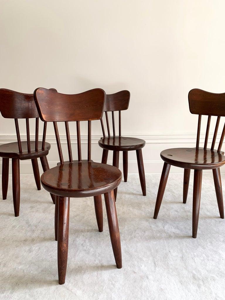 Scandinavian Modern Torsten Claeson Dining Chairs for