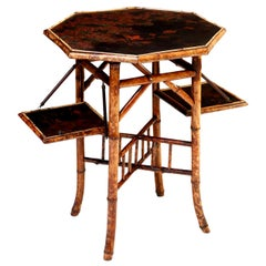Tortoise Shell Bamboo Dessert Table