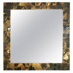 Tortoise Shell Effect Layered Acrylic Mirror