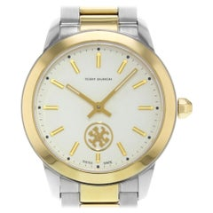 Tory Burch Collins Two-Tone Stainless Steel Quartz Ladies Watch TB1306