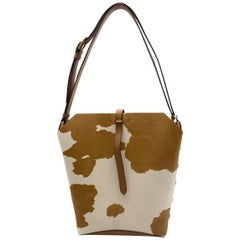 Tory Burch Rowan Calf Hair Bucket Bag - Current Season One Size