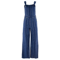 Tory Burch Striped Linen Jumpsuit  SIZE XS