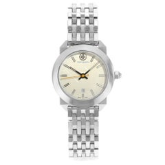 TORY BURCH Whitney Cream Dial Stainless Steel Ladies Watch TB8001