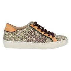 Tory Burch Woman Sneakers Grey Fabric US 5