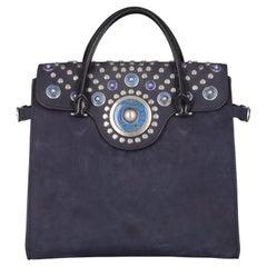 Tory Burch Women Handbags Navy Leather