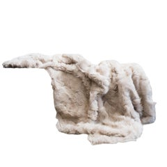 Toscana Sheep Throw Unlined, Truffle in Pearly Grey