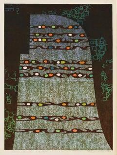 'Transcendance' — Sôsaku-hanga abstraction